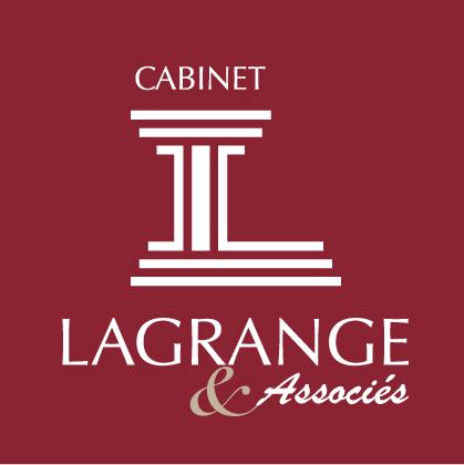 Logo rouge Cabinet Lagrange et associés, La roche sur Yon en Vendée