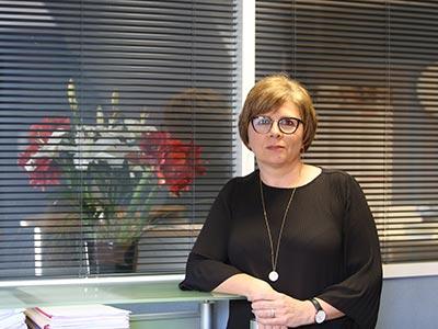 Karine Rabillard assistante administrative cabinet avocats Lagrange et associés Lagrange en Vendée, La Roche Sur Yon